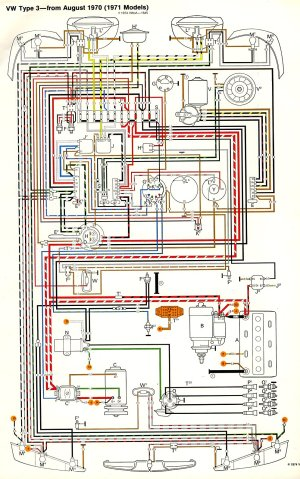 TheSamba :: Type 3 Wiring Diagrams
