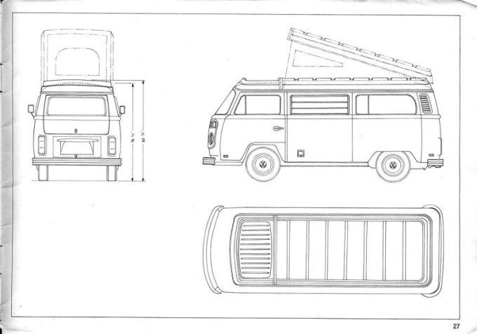 vw type 2 interior dimensions
