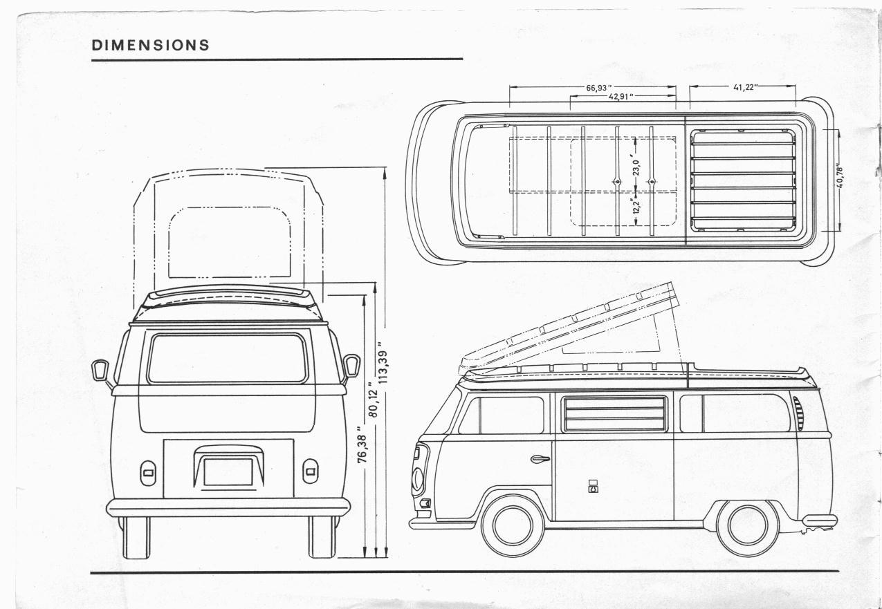 Thesamba Westfalia Campmobile Operating Instructions