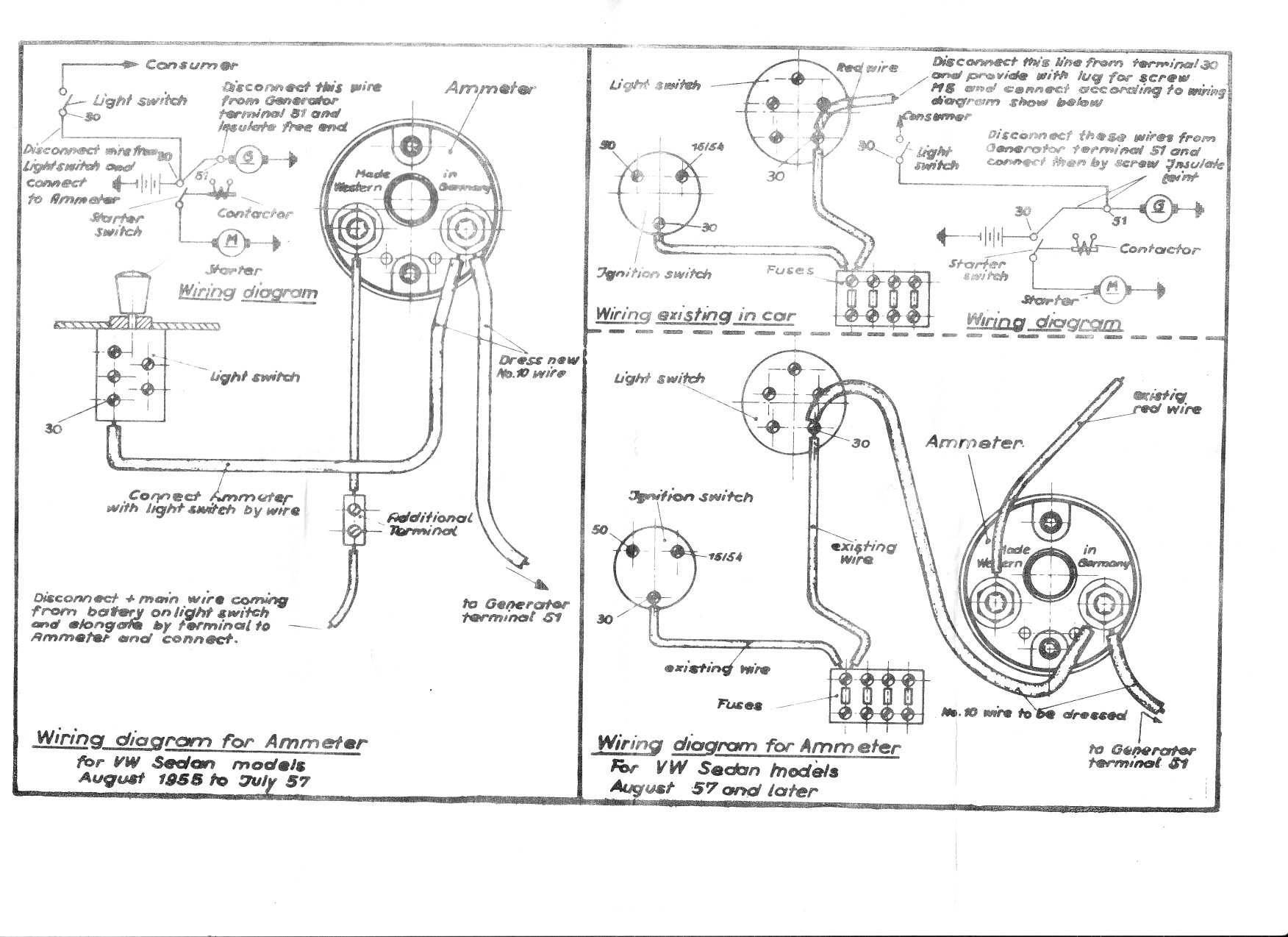 Sunpro Ammeter Wiring Diagram - free download wiring diagrams