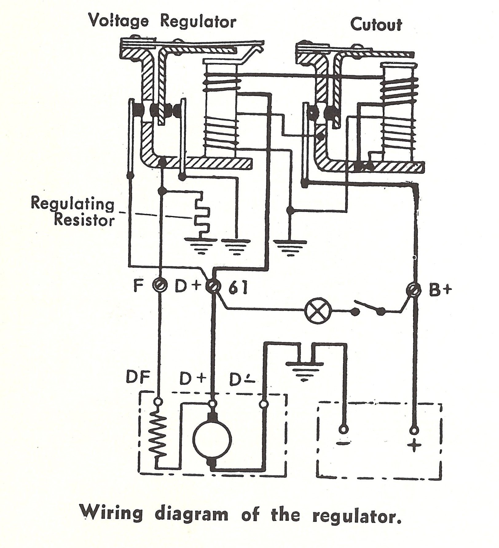 12 Volt Alternator Wiring Diagrams