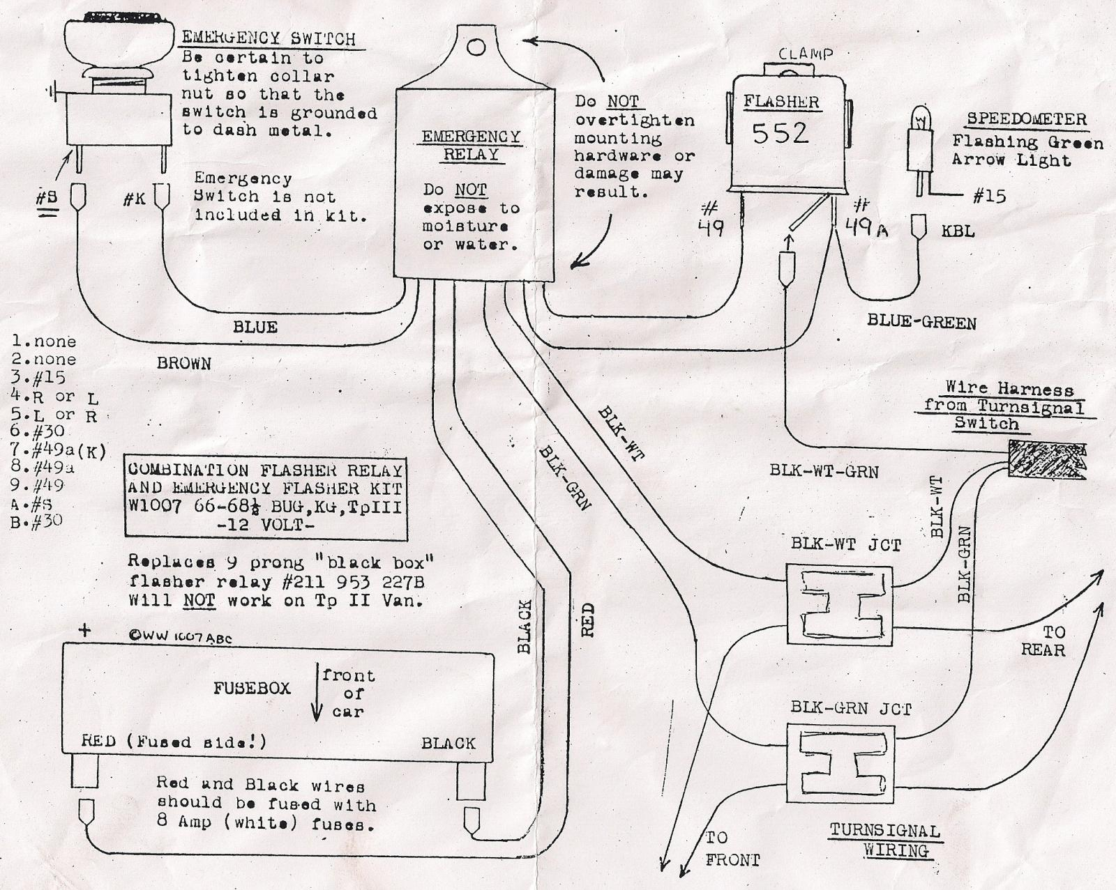 Three Prong Flasher Wiring Diagram