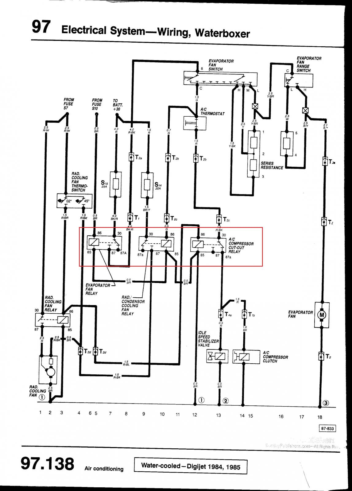 Wrg Vanagon Ac Wiring Diagram