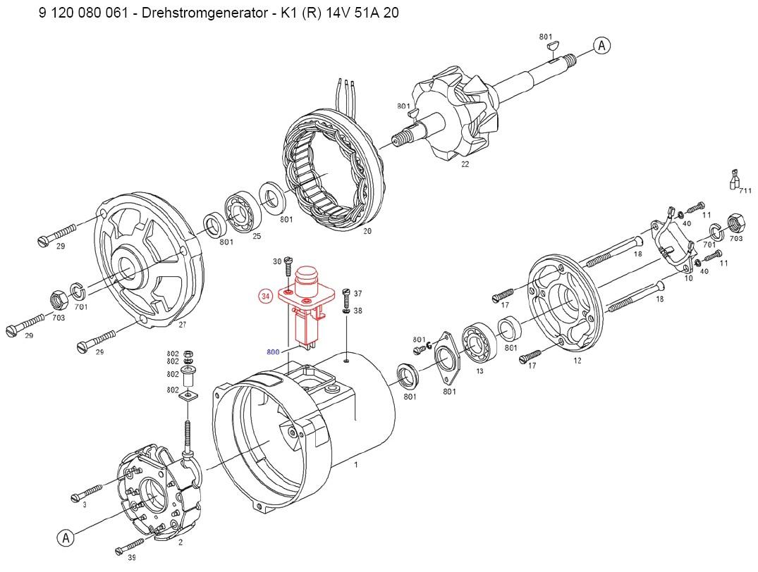 [DIAGRAM] Vw Alternator Vw Generator Wiring Diagram FULL