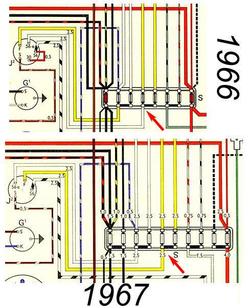 1967 vw fuse box diagram  description wiring diagrams link