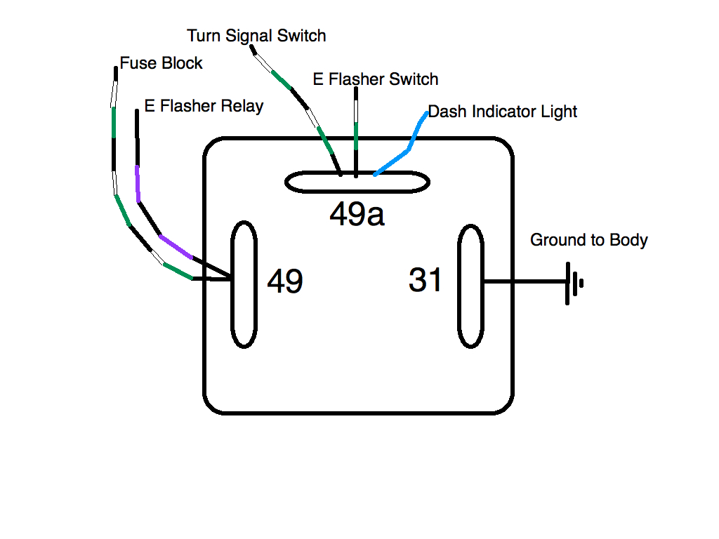 3 Pin Flasher Relay Wiring Diagram Manual