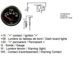 TheSamba :: Gallery  VDO Temp gauge wiring diagrams