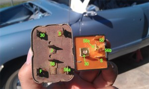 TheSamba :: Ghia  View topic  1966 Headlight Relay differences and wiring woes