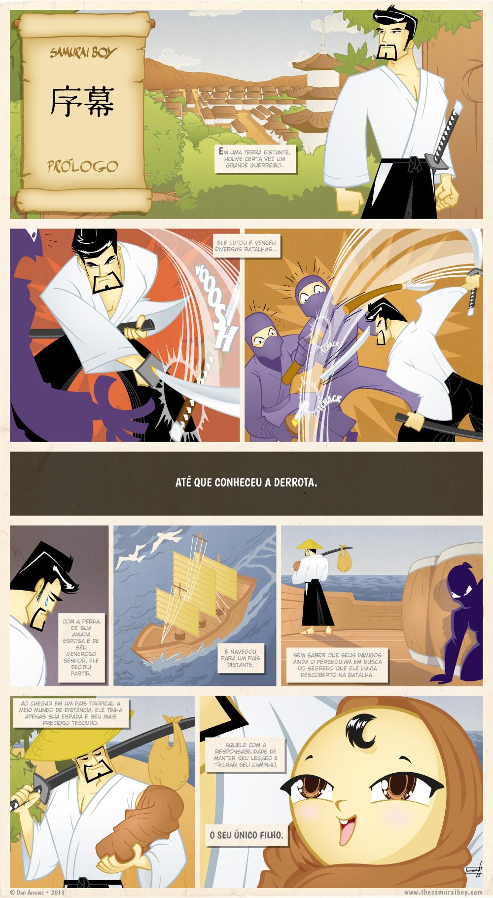 Prólogo – O Caminho de Um Samurai