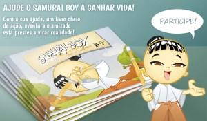 Livro Samurai Boy