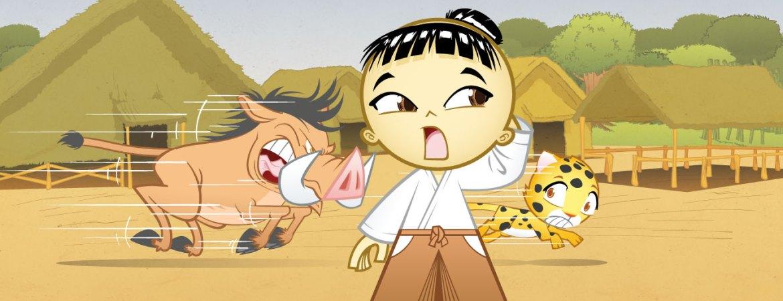 Samurai Boy: the boar thief