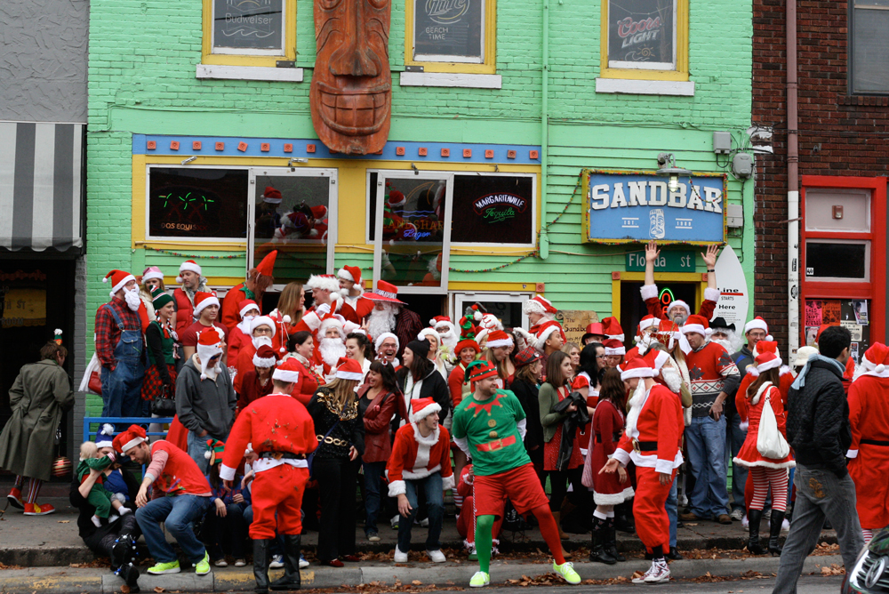Santacon 2011 at Sandbar  | www.thesandbar.com