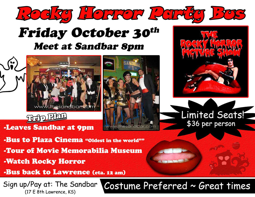 Rocky Horror Picture Show 2015 flier