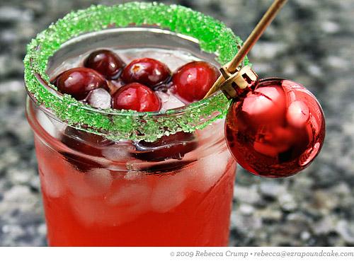 Christmas cranberry-margarita-3
