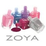 3 FREE Bottles of Zoya Nail Polish w/$10 Shipping!