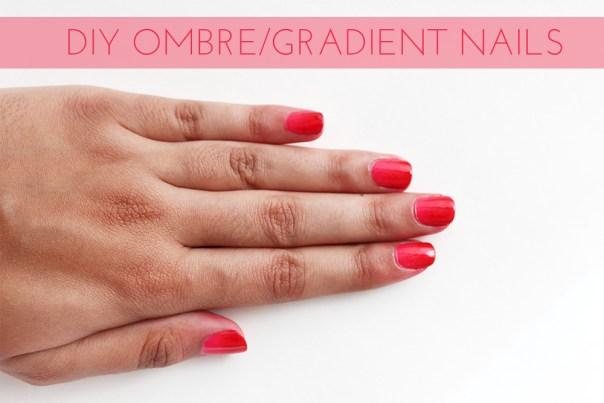DIY Ombre/Gradient Nails