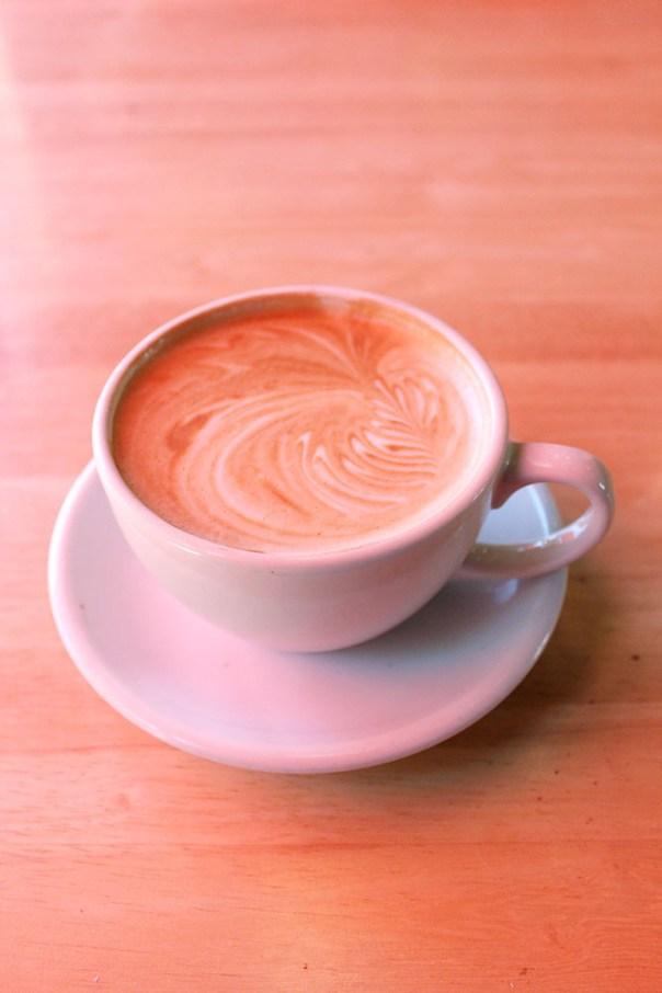 Intelligensia Latte at Sally Loo's