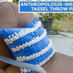 Anthropologie-Inspired Tassel Trace Pillow – How To