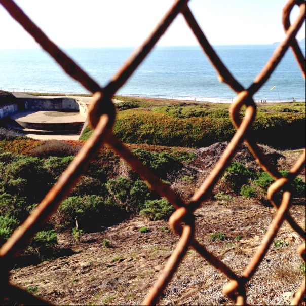 Chain Link Fence, Ocean View