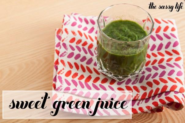Sweet Green Juice