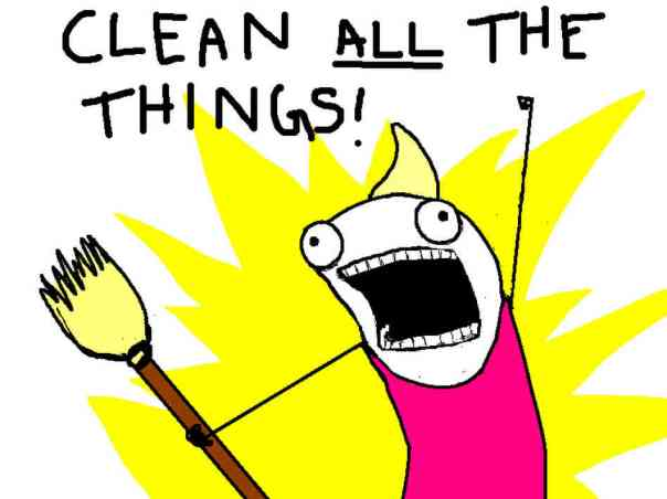 Clean all the things: Hyperbole and a Half