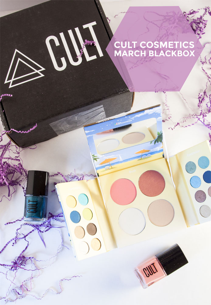 Cult Cosmetics Blackbox, March