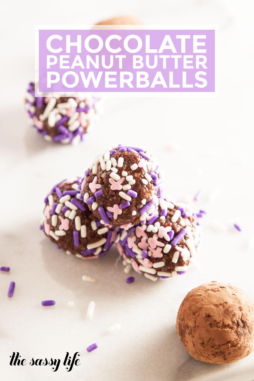 Chocolate Peanut Butter Powerballs