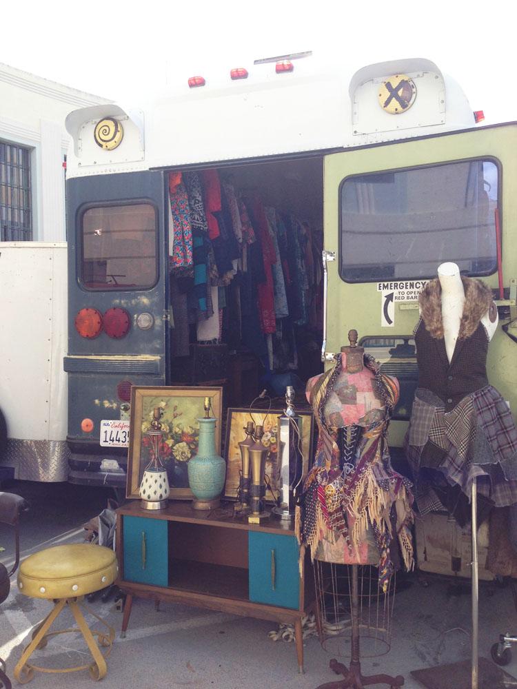 Flea Market Bus