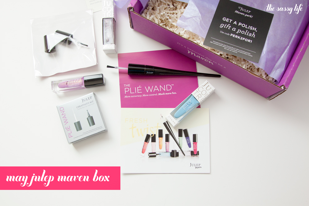 May Julep Maven Box with Plie Wand