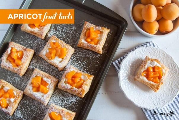 Apricot Fruit Tarts