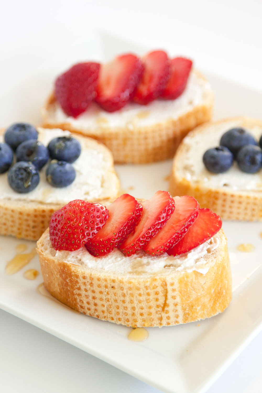 Ricotta Honey Toast