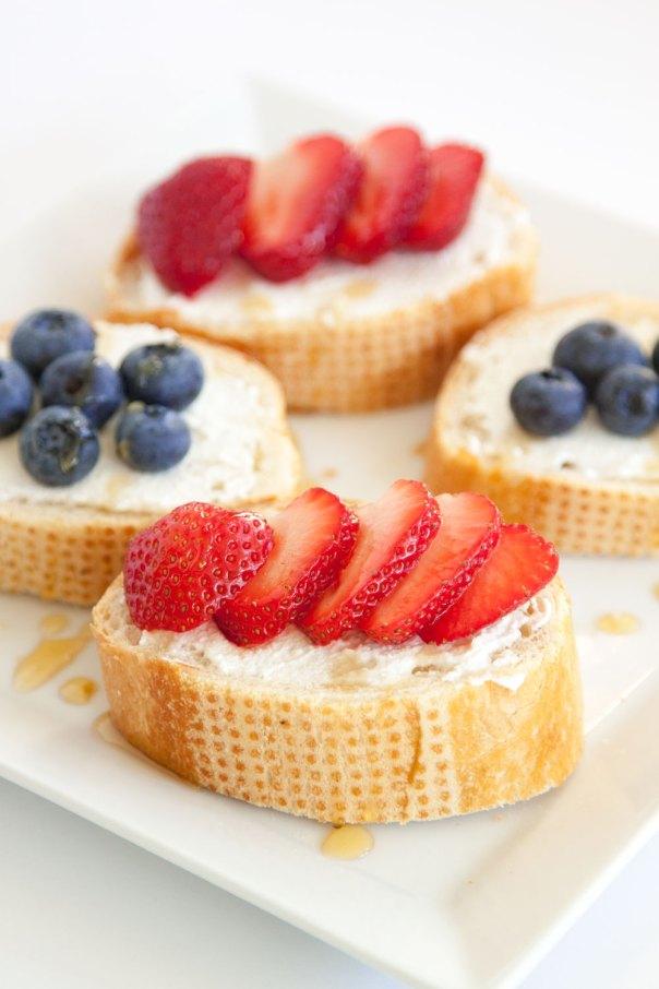 Ricotta Honey Toast