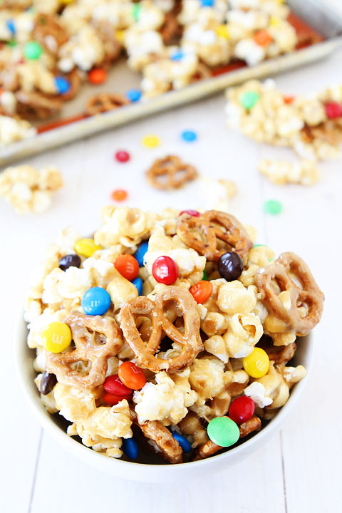 Sweet and Salty Marshmallow Popcorn