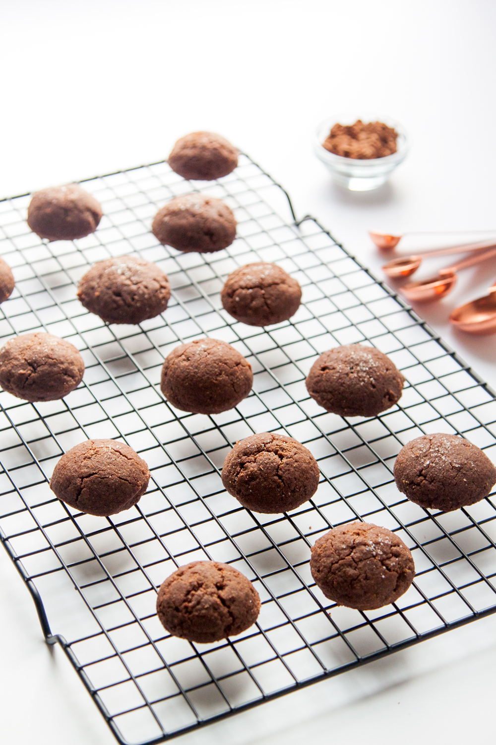 Cocoa Sea Salt Brown Butter Cookies (Inspired by the Brown Butter Cookie Company)