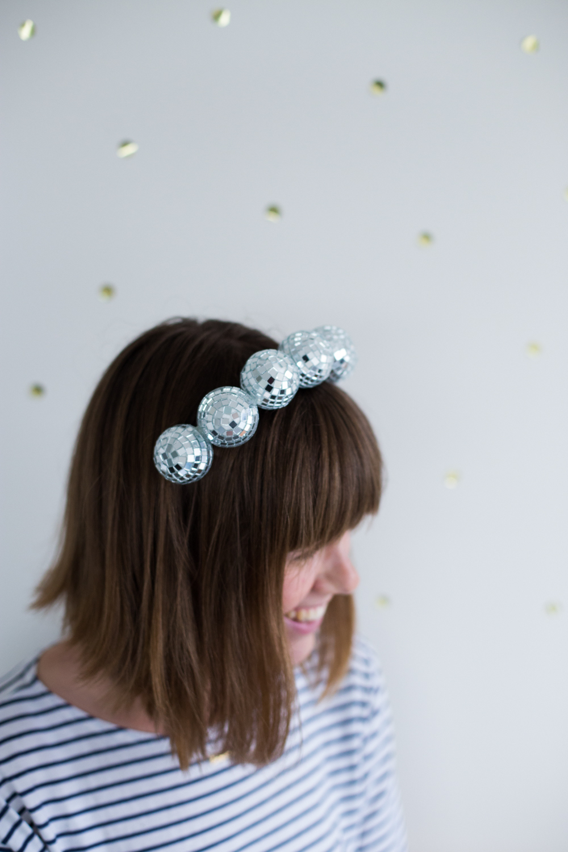 Disco Ball Headband