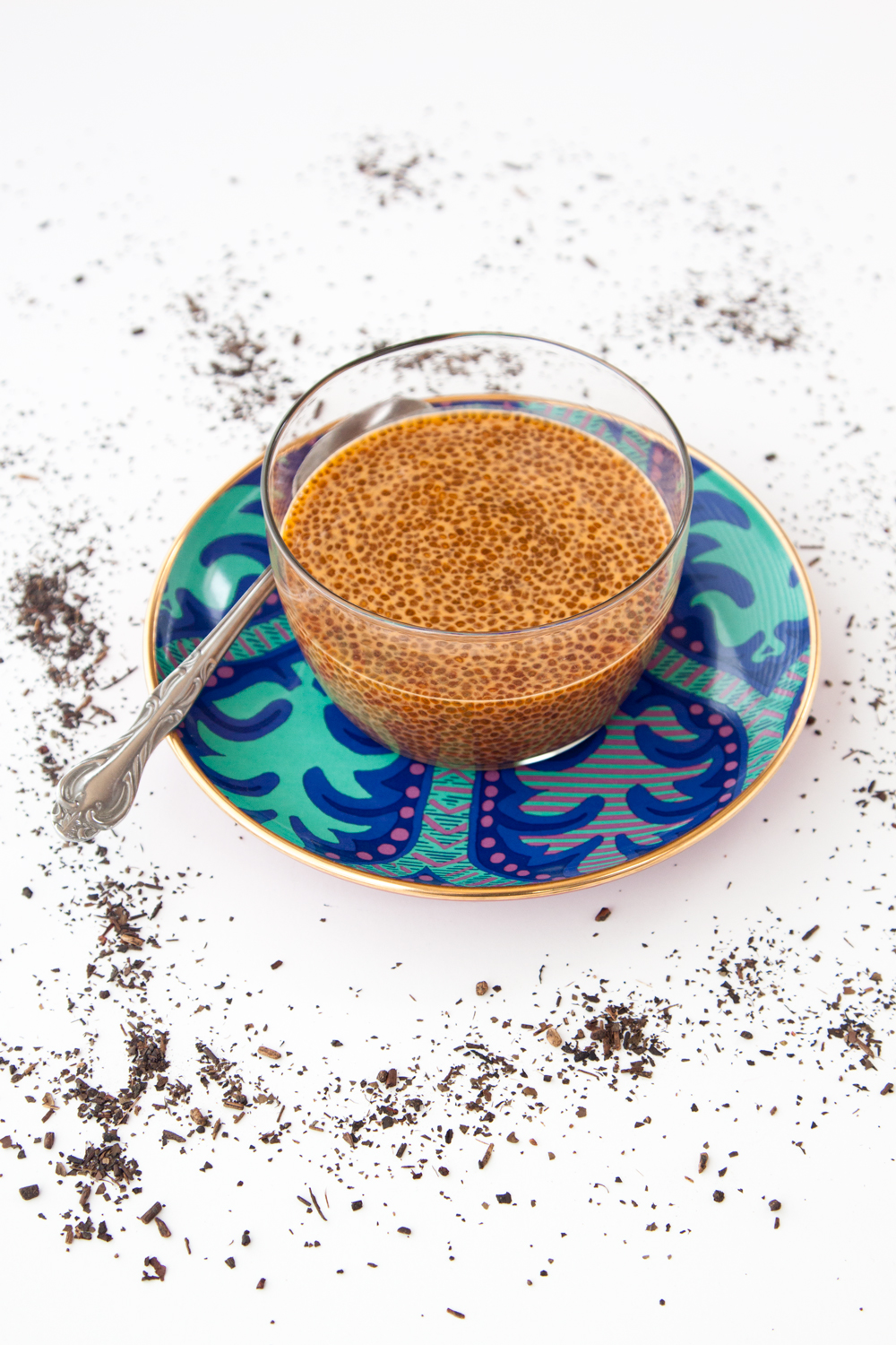 Thai Tea Chia Seed Pudding