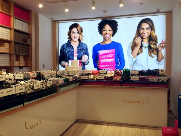 BYOB (Build Your Own Birchbox) at Birchbox Flagship in SOHO