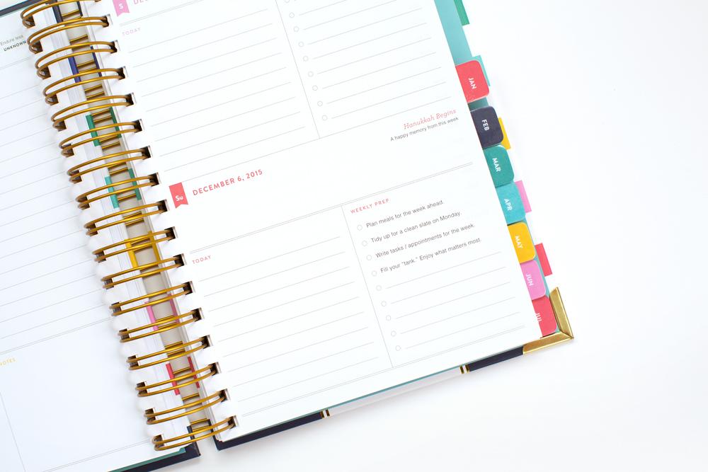 Simplified Planner 2016