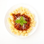 Easy Beef Bolognese with Manwich®!