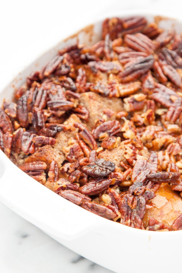 pecan pie french toast casserole