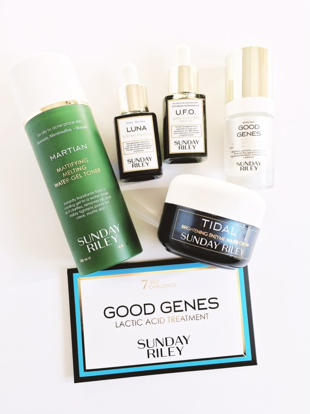 My Sunday Riley Skincare Haul