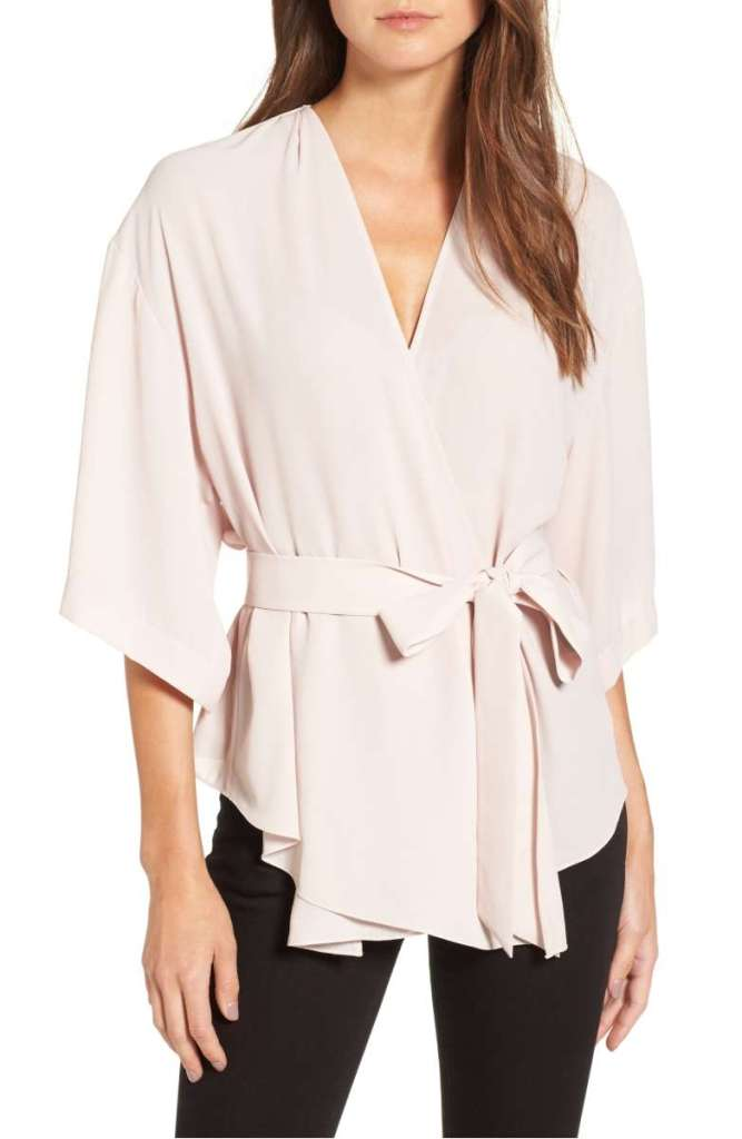 Women's Trouve Wrap Blouse
