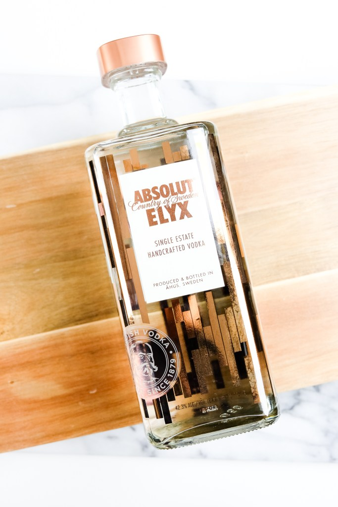 Absolut Elyx // Raspberry Mules