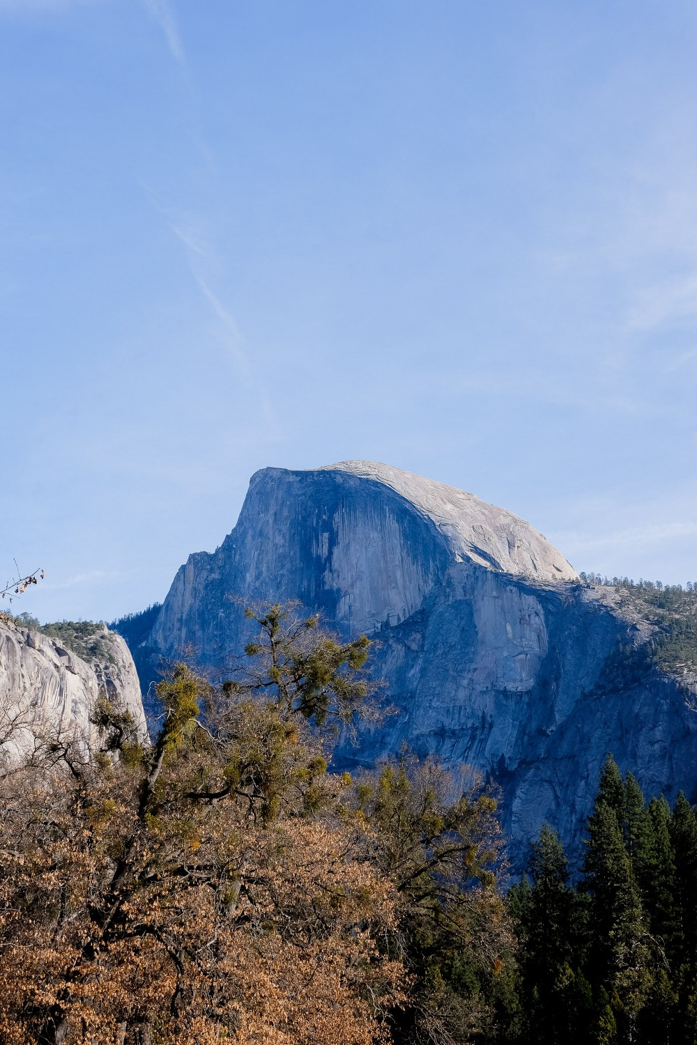 Half Dome // Things To Do in Yosemite in Winter