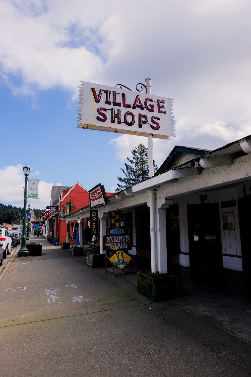 Downtown Guerneville