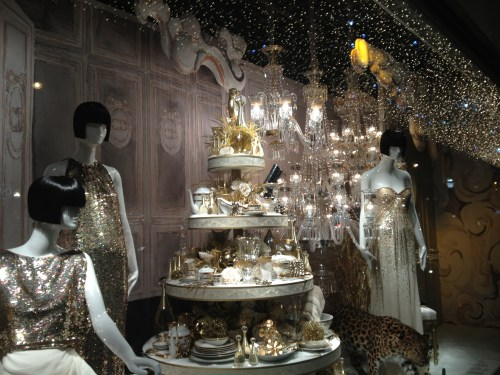 Dior Christmas Windows Au Printemps