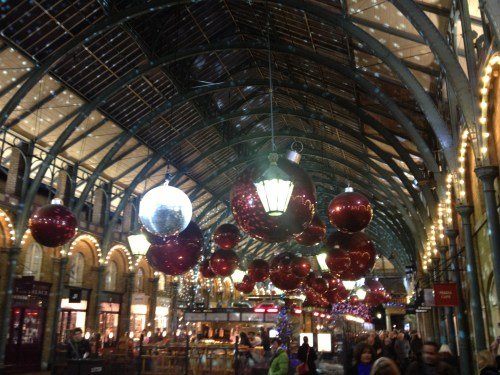 Inside Covent Garden Market