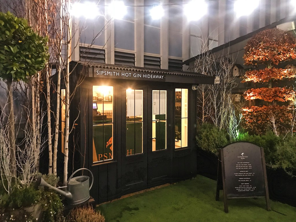 Recent Highlights Sipsmith Gin Pop Up Christmas Parties Finding Neverland The Savvybostonian
