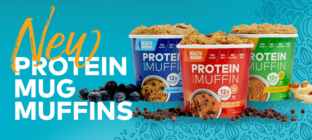 Savvy Health, 9/11/19:  Vegan Stroke Risk, Antidepressants/Stress/Gut Bacteria, Health Warrior Protein Mug Muffins