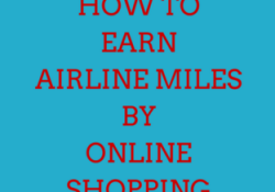 earn frequent flyer miles online shopping portals